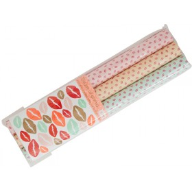 RICE wrapping paper Kiss Print