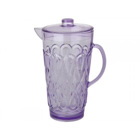 RICE Jug Swirly Embossed Acrylic in Lavender