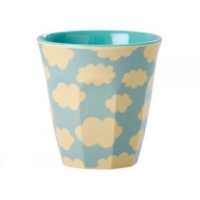 RICE kids melamine cup cloud print