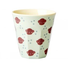 RICE Kids Melamine Cup MONKEYS