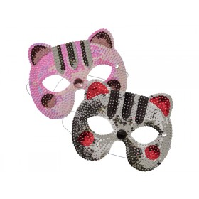 RICE Sequin Animal Mask Cat