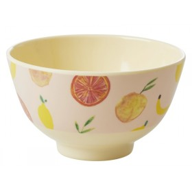 RICE Melamine Bowl HAPPY FRUITS small