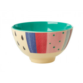 RICE Small Melamine Bowl LUISE'S STRIPES