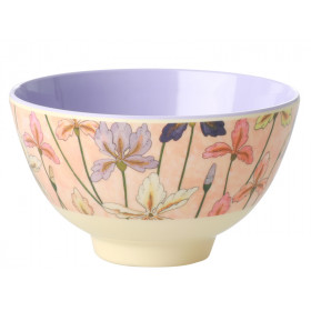 RICE Melamine Bowl IRIS small