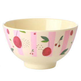 RICE Melamine Bowl CHERRIES small