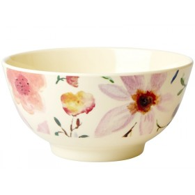 RICE Melamine Bowl SELMAS FLOWERS small