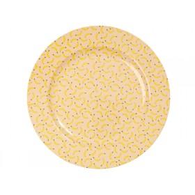 RICE melamine serving dish banana print