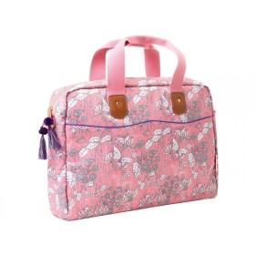RICE laptop bag WILD CHERVIL print