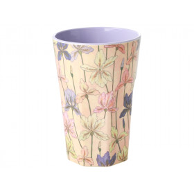 RICE Tall Melamine Cup IRIS