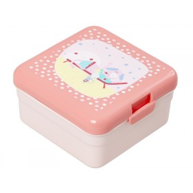 Small RICE kids lunchbox happy camper girl