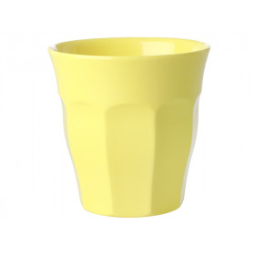 RICE Melamine Cup light yellow