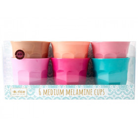 RICE Melamine Cups LBC Colors