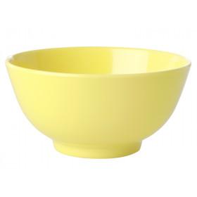 RICE Melamine Bowl LET'S SUMMER light yellow