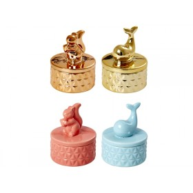 RICE Jewelery box ANIMAL MOTIVES
