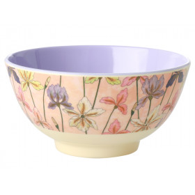 RICE Melamine Bowl IRIS