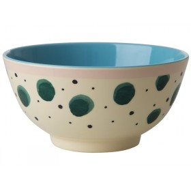 RICE Melamine Bowl Watercolor Splash