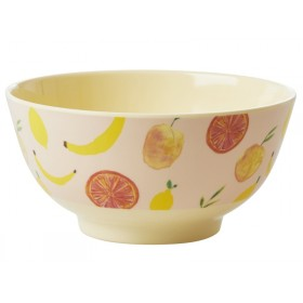 RICE Melamine Bowl HAPPY FRUITS