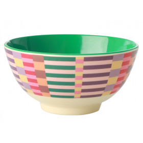 RICE Melamine Bowl SUMMER STRIPES