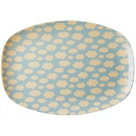 RICE Melamine Plate CLOUD