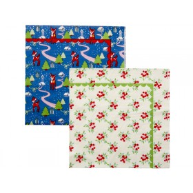 RICE paper napkins X-mas