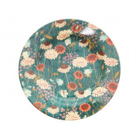 RICE melamine side plate AUTUMN FLOWERS
