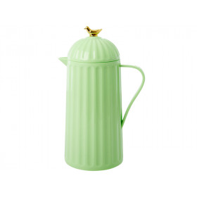 RICE Thermo with BIRD pastel green