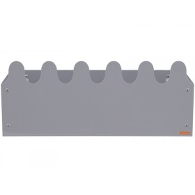 Roommate Shelf SINUS BOX grey