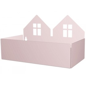 Roommate box shelf TWIN HOUSE rose