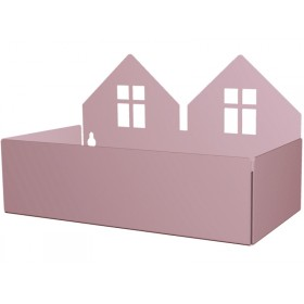 Roommate box shelf TWIN HOUSE violet