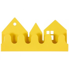 Roommate coat rack VILLAGE yellow