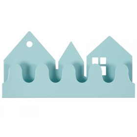 Roommate coat rack VILLAGE pastel blue