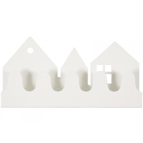 Roommate coat rack VILLAGE white