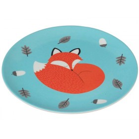 Rexinter melamine plate Rusty the Fox