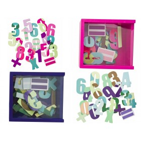 Magnetic numbers for kids by Sebra