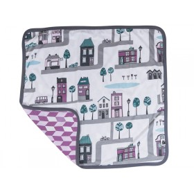 Sebra baby blanket village girl