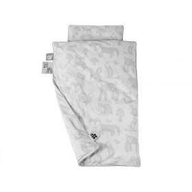 Sebra bedding Forest grey