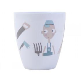 Sebra melamine cup farm boy