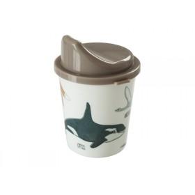 Sebra Melamine baby spout cup Arctic Animals