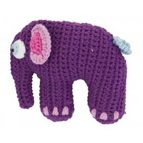 Purple rattle elephant by Sebra