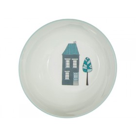 Sebra melamine bowl village boy