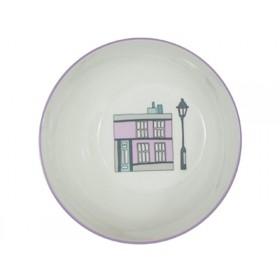Sebra melamine bowl village girl