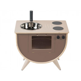 Sebra Play Kitchen warm grey