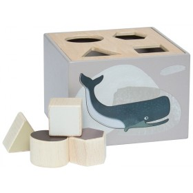 Sebra shape sorter box ARTIC ANIMALS