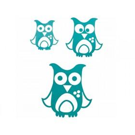 Wall stickers with owl by Sebra