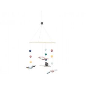 Sebra Crochet Mobile BIRDS
