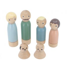 Sebra Dollhouse DOLL FAMILY