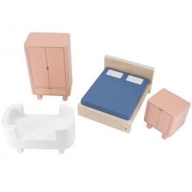 Sebra Dollhouse BEDROOM