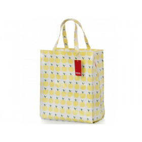 Engel Shopper small APPLES yellow