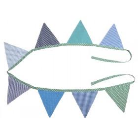 Sindibaba: Pennant Bunting Banner - blue