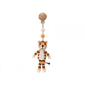Sindibaba crochet pram clip Tiger TONY